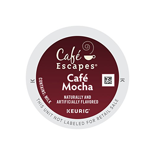 Cafe Escapes Cafe Mocha, Keurig K-Cups, 12 Count (Pack of 6) (Keurig Mocha K Cups compare prices)