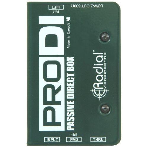【 並行輸入品 】 Radial Pro DI Passive Direct Box   B00JEFLRCC