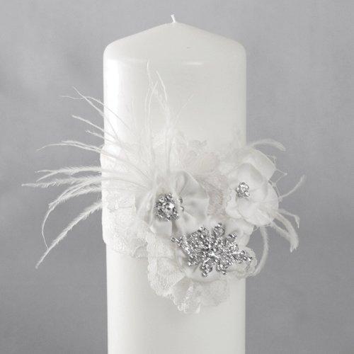 Ivy Lane Design Genevieve Pillar, White