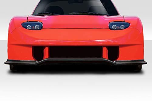 Duraflex Replacement for 1993-1997 Mazda RX-7 Bossen Wide Body Front Bumper - 1 Piece