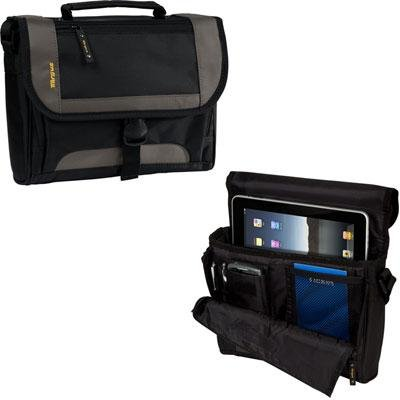 (Targus CityGear Mini for iPad, Tablet, Netbook - Black/Yellow Accents)