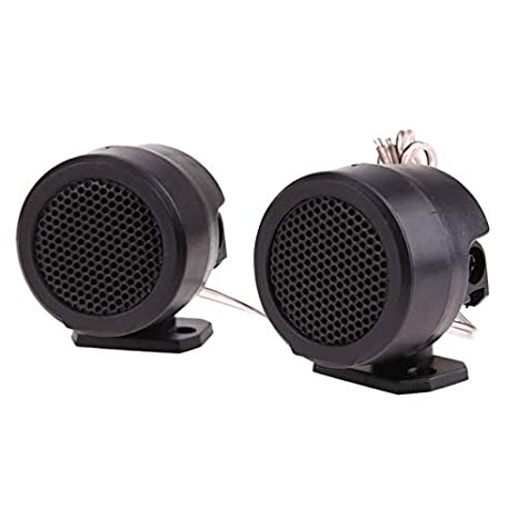 BEESCLOVER Universal 500W Half Dome Car Loud Speaker Tweeter High Efficiency Au/_dio System with Stand Treble Loud Speakers Mini Car Au/_dio Show