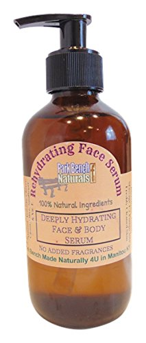 Rehydrating Face Serum with Hemp Unfragranced 8 oz Pump Bottle by Park Bench Naturals