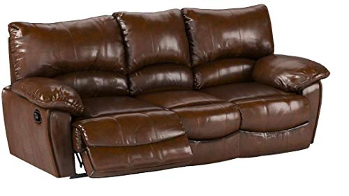 Phenomenal Top 10 Best Leather Reclining Sofas Of 2019 Top Ten Machost Co Dining Chair Design Ideas Machostcouk