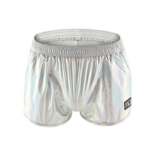 MIGAGA Glitter Casual Surf Board Beach Shorts Bathing Swimming Trunks with Poket for Men/£/¬