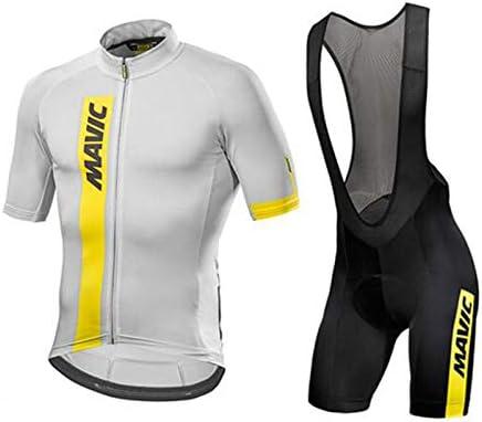 Hplights Conjunto Ropa Equipacion Traje Ciclismo Hombre para Verano, Maillot Ciclismo Hombre+Culotte Ciclismo Culote Bicicleta,XS: Amazon.es: Deportes y aire libre