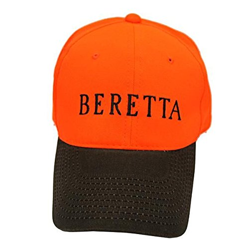Beretta Men's Upland Blaze Orange Cap, Orange/Brown, One Size