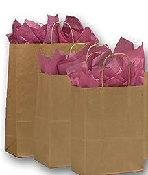 Kraft Paper Shopper Assortment 3 Assorted Sizes (Kraft-8)
