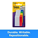 Post-it Tabs, 2 in, Solid, Assorted