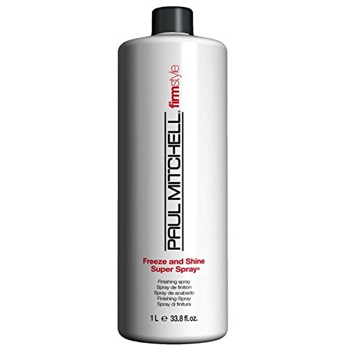 Paul Mitchell Freeze & Shine Super Spray 33.8 - Paul Spray Mitchell Shine