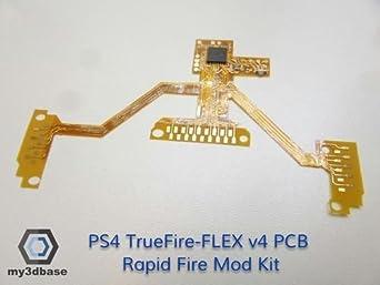 PS4 TrueFire-FLEX V4 Rapid fire PCB Mod Kit Rapidfire JDM-030