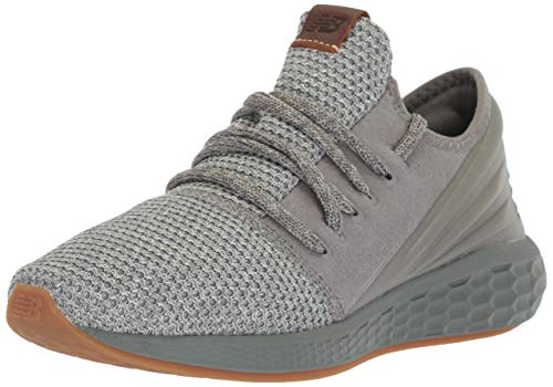New Balance Slip Ons - New Balance Men's Cruz V2 Fresh Foam Running Shoe, sedona sage/stone grey, 10 2E US