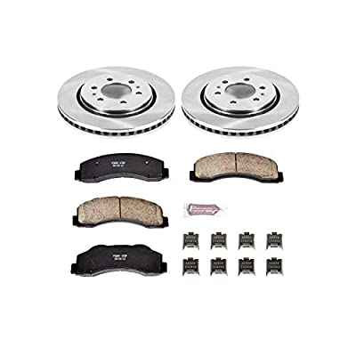 Power Stop KOE3167 Autospecialty By Power Stop 1-Click Daily Driver Brake Kits