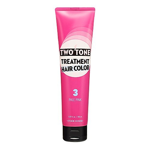 Etude House Two Tone Treatment Hair Color 150ml (#03 Pale Pink)