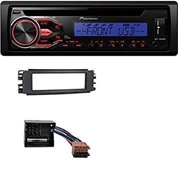 Pioneer deh-1800ubb CD MP3 USB AUX Radio de coche para Smart Forfour (454): Amazon.es: Electrónica