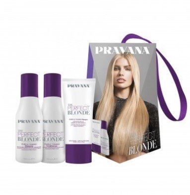 Pravana The Perfect Blonde Travel Trio kit