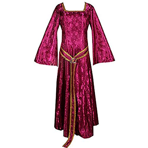 MYYH Anime Gothel Cosplay Costume Women Medieval Dress Cloak Outfit Halloween]()