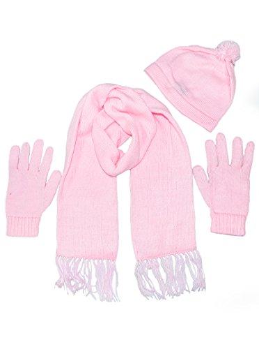 Alpaca Gloves - Winter Alpaca Set (Pink)