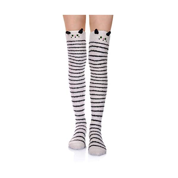 Over Knee Cute Cartoon Socks Stockings Leg Warmers