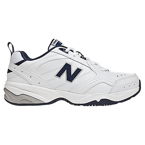 New Balance Men's MX624v2 Casual Comfort Training Shoe, White/Navy, 12.5 6E US