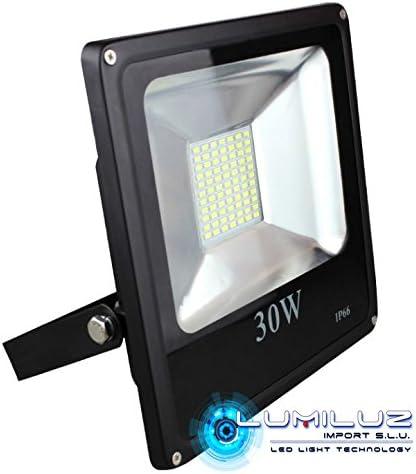 Proyector Led Exterior IP65 30W luz Azúl, ideal para jardines y plantas, fiestas,decoración exterior..: Amazon.es: Iluminación