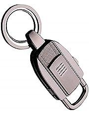 iwobi Elektrisk nyckelring tändare USB uppladdningsbar tändare, elektronisk spole cigarettändare usb uppladdningsbar vindtät flamlös (spole utbytbar)