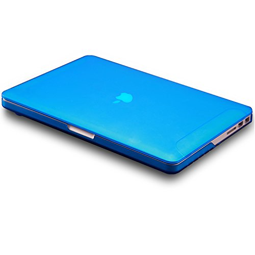 Hard-Cover-for-MacBook-Pro-13-Retina-FaNepo-Ultra-Slim-Lightweight-Protective-Skin-Flexible-Hazy-Rubber-Case-for-Mac-Book-Pro-13-Inch-with-Retina-Display-PC-Rubberized-Cover-A1425-A1502-Blue