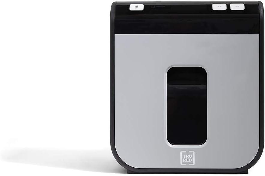TR-BMC8A TRU RED 8-Sheet Micro-Cut Personal Shredder