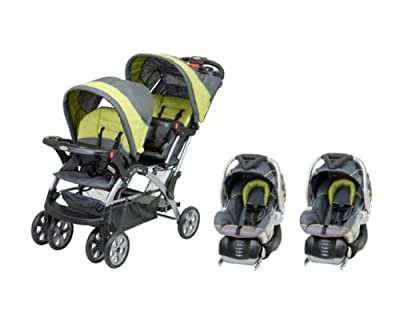 Baby Trend Sit N Stand Inline Double Baby Stroller & Twin Car Seat Travel System by Baby Trend that we recomend personally.