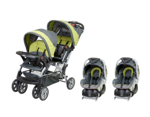 Twin Baby Stroller Travel System - 3