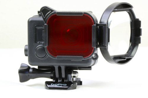 SwitchBlade GoPro Hero3+ Red/Macro  Filter-Aqua3+-Scuba