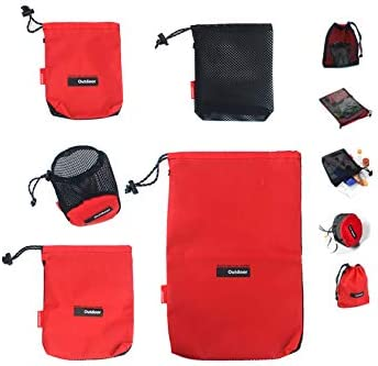 Drawstring Pouch Mesh Stuff Sack Camping Travel product image