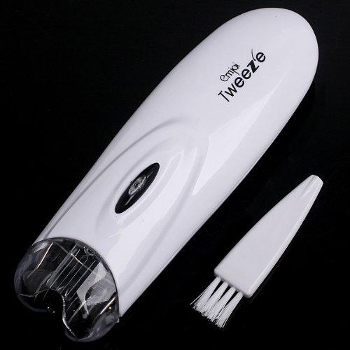Anself Depiladora de vello facial y pelo corporal, color blanco