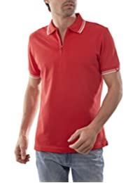 Playera Polo Manga Corta Slim Fit Rojo