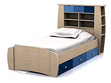 Sydney 3ft Cabin Bed With 3 Drawers Large Storage Headboard With