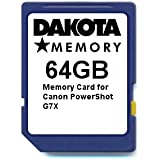 64GB Memory Card for Canon PowerShot G7X