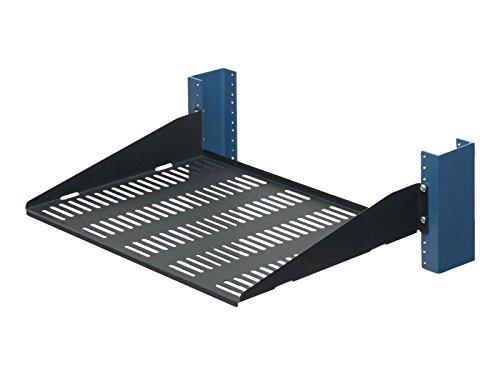 (RackSolutions Innovation Rack Shelf (Ventilated) - 2 U (2USHL-022HALF-13DV))