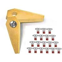 18 cuchillas de repuesto de titanio para Bosch Indego, aptas para todos los Indego - 800, 1000 1200, 350, 400 y 450…