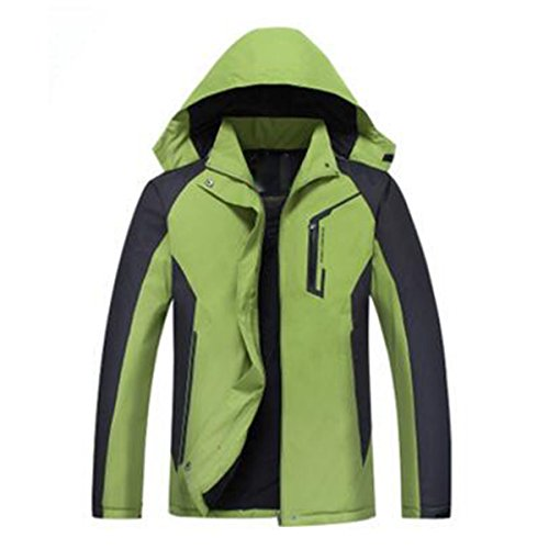 Aperta In Sport Lai Capispalla Donna Mountain Wear Wu Green Cotone All'aria Giacche 7pq8wC