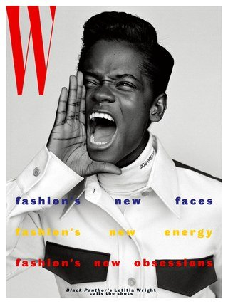 W Magazine Volume IV (2018) Black Panther Letitia Wright Cover