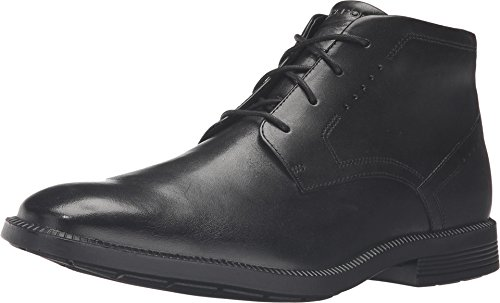Rockport Men's Dressports Business Chukka Black Leather Boot 9.5 M (D) by Rockport
