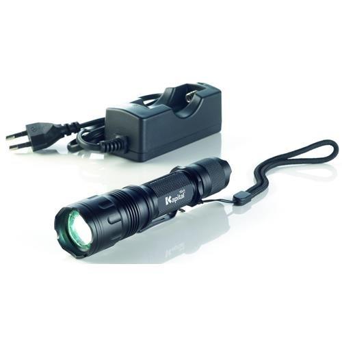 Kapital KL840CR Linterna De Bolsillo Con Bateria Recarga