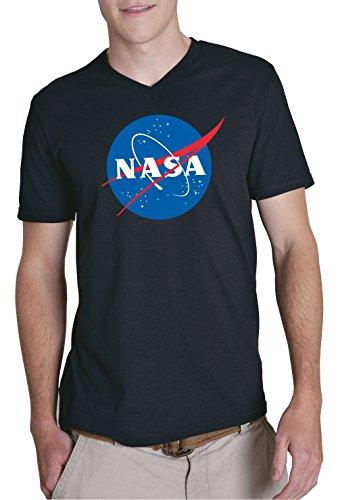 NASA V-Neck Black Certified Freak