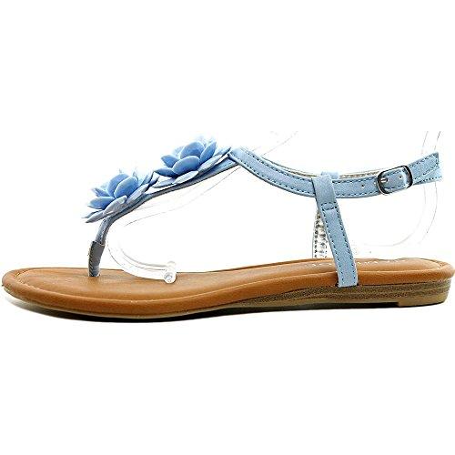 Rampage - Sandalias de vestir para mujer Azul