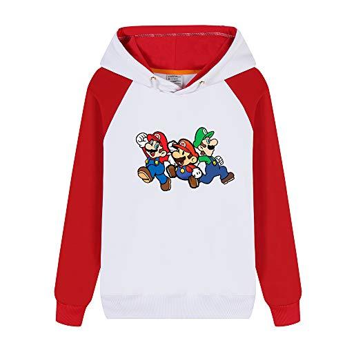 Chaud shirts Unisex Pullover Et Red27 Aivosen Hiver Pour Femmes Sweat Longues Mario Super Hommes Hoodies Manches Mode dgqqY4wP