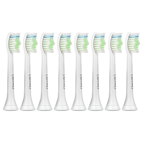 Toothbrush Heads - DiamondClean Sonic Replacement Heads For Philips Sonicare Electric Toothbrush Set of 8 Compatible with DiamondClean,Flexcare Healthy White,Plaque Control, Sonicare for Kids & more