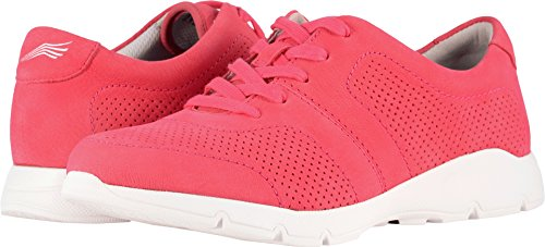 (Dansko Womens Alissa Raspberry Milled Nubuck Sneaker - 38)