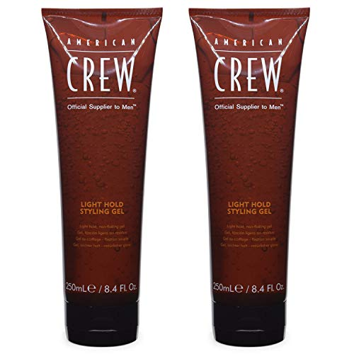 AMERICAN CREW Classic Light Hold Styling Gel 250ml / 8.45fl.oz. (Pack of 2) American Crew Light Hold Gel