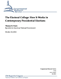 The Electoral College: How It Works in Contemporary Presidential Elections