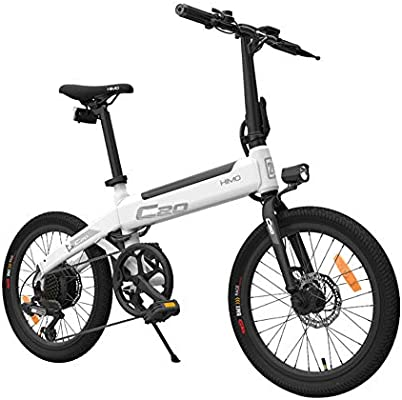 Harwls - Bicicleta eléctrica Plegable (25 km/h, equitación de ...
